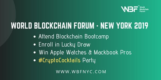 CryptoCocktail Party for WBF Technology Conference · New York 2019