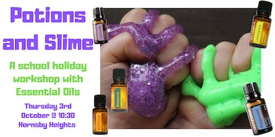 Potions and Slime School Holiday Workshop