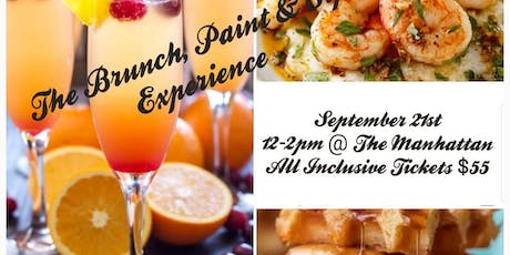 The Brunch, Paint & Sip Experience tickets