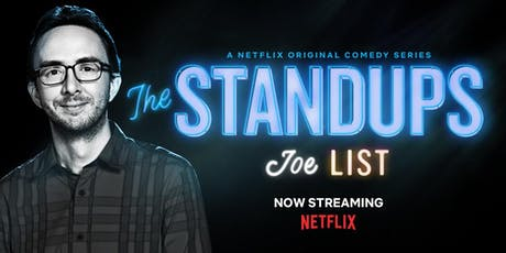 """Joe List from NBC's """"Last Comic Standing"""", """"Are You Mad at Me"""" and Comedy Central tickets"""