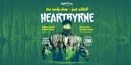 Rhythm on the Water: Heartbyrne Boat Cruise (EARLY SHOW)