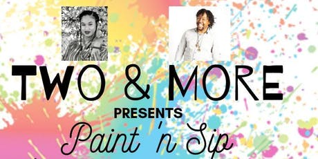 Two & More: Paint 'n Sip tickets