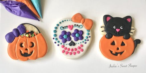 Halloween Cookie Decorating Class-2nd Session