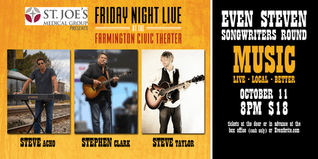 Friday Night Live - Even Steven Songwriters Round tickets