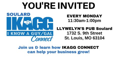 Soulard IKAGG CONNECT Weekly Meeting tickets