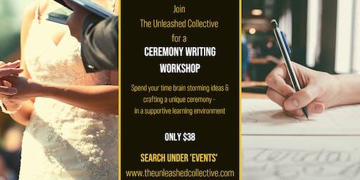 Ceremony Writing Workshop
