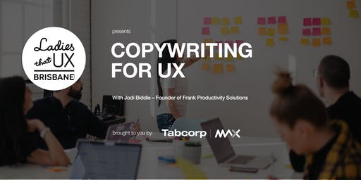 Copywriting for UX