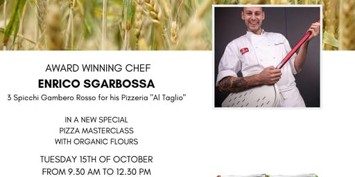 ORGANIC FLOURS WITH MASTER PIZZA CHEF ENRICO SGARBOSSA