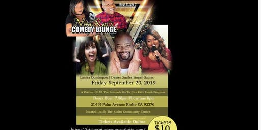 All Star FRIDAY NIGHT LIVE COMEDY SHOW -NitaRae's Comedy Lounge