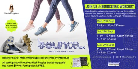 Hush Puppies BounceMax Workout  tickets