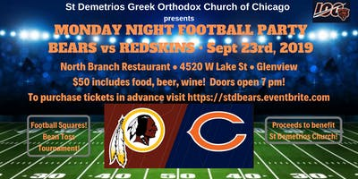 St Demetrios Greek Orthodox Church of Chicago - Bears Football Party