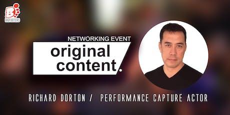 Original Content Networking Event w/Richard Dorton tickets