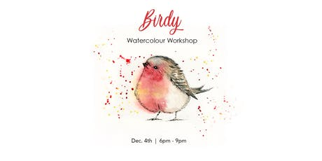 Birdy - Watercolour Workshop tickets