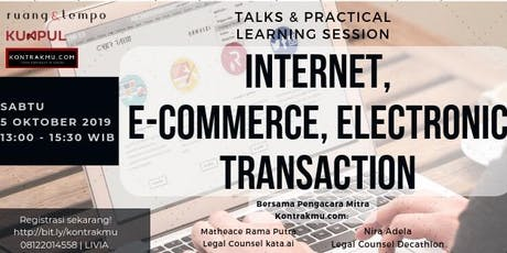 Internet, E-Commerce & Electronic Transaction tickets