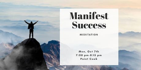 Manifesting Success Meditation & Candle Gazing (Point Cook) tickets