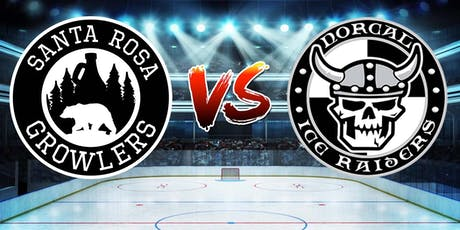 Santa Rosa Growlers vs. NorCal Ice Raiders tickets