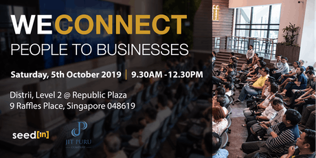 WeConnect - People to Businesses Seminar (3rd Series) tickets