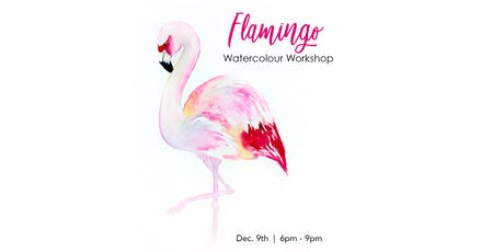 Flamingo - Watercolour Workshop tickets