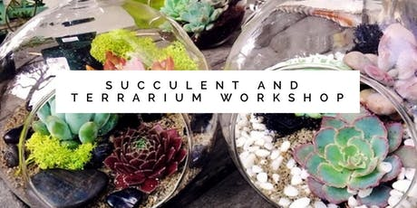 Succulent Diffuser Workshop tickets