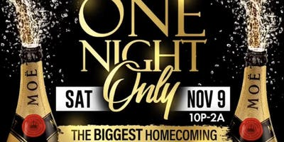 One night only The Biggest NCCU Homecoming Ever
