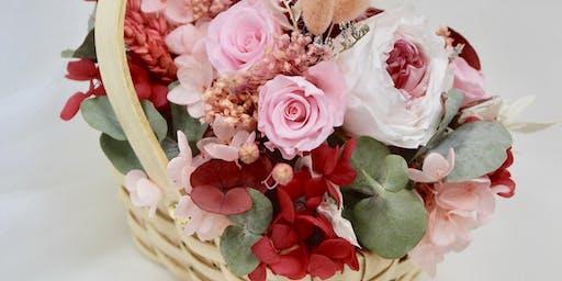 Preserved Flower Basket Workshop