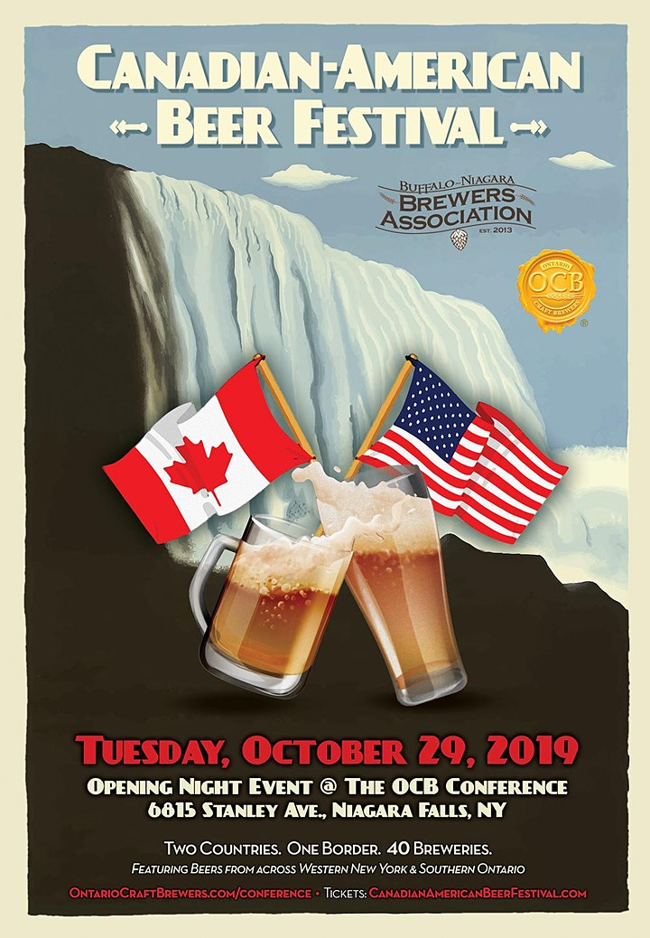 Canadian American Beer Festival image