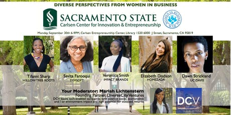 Sac State Women In Business - Entrepreneurship Panel tickets