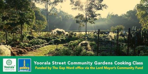 Yoorala Street Community Garden Cooking Class