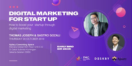 Digital Marketing For Start Up tickets