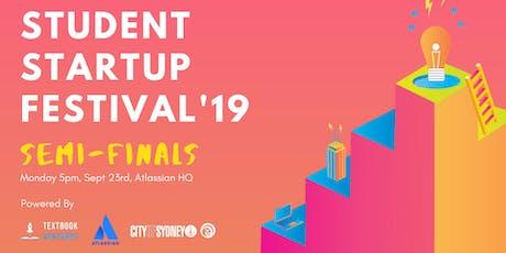Semi-Finals: Student Startup Festival 2019 tickets