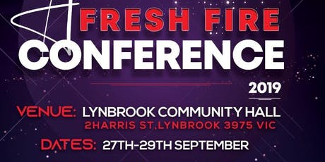 Afresh Fire Conference 2019 tickets