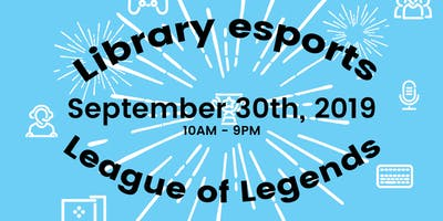 Library esports presents - Pakenham League of Legends