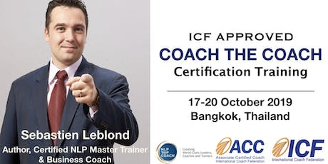 ICF Approved Coach the Coach Certification Training tickets