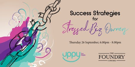 Success Strategies for Stressed Biz Owners tickets