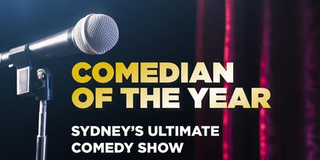 Comedian of the Year GRAND FINAL - Stand-Up Comedy Show tickets