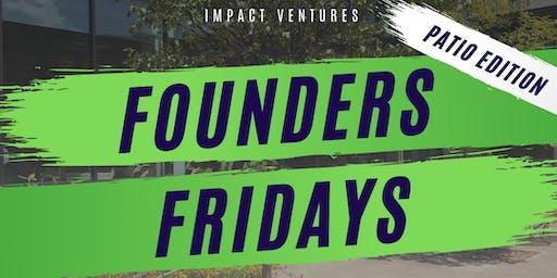 #FoundersFridays Social + Fireside Chat [October]