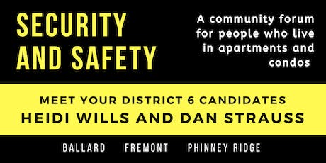 Security and Safety in Ballard/Fremont/Phinney Apts and Condos tickets