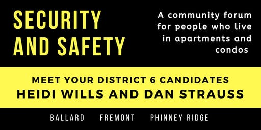 Security and Safety in Ballard/Fremont/Phinney Apts and Condos