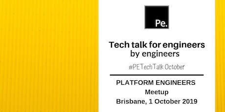 #PEtechtalk October | Platform Engineers Brisbane tickets