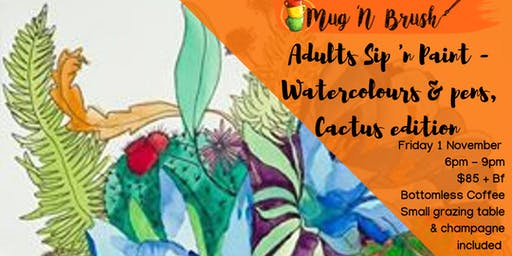 Watercolour & Pen's: Cactus Edition