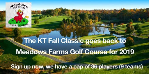 The KT Fall Classic Golf Tournament (Two-person Scramble) $90 early bird price