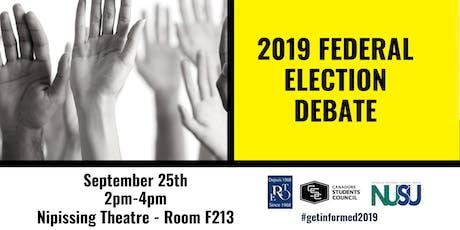 Federal Election Debate tickets
