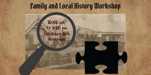 Family & Local History Workshop