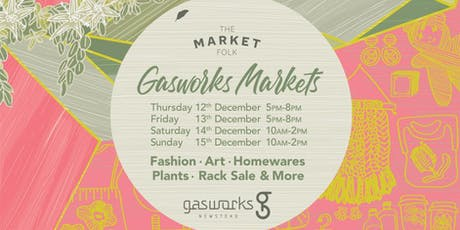 Pre-Loved Rack Sale - Gasworks Plaza x The Market Folk tickets