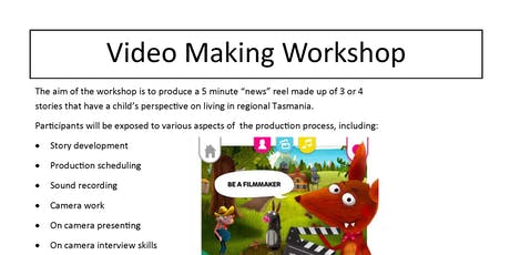 Video Making Workshop tickets