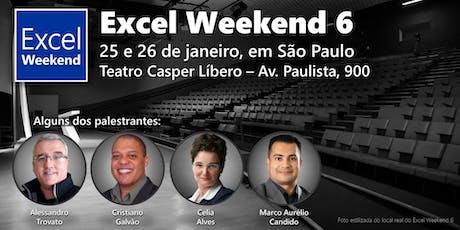 Excel Weekend 6 ingressos
