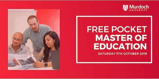 Free Pocket Master of Education - Murdoch University Dubai