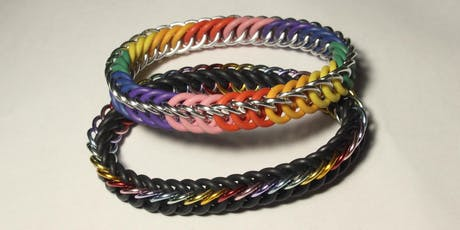Stretchy Chainmail Bracelet Workshop — WONDERS OF THE EARTH SHOW tickets