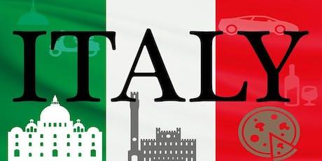 The Italian Quiz & Supper tickets