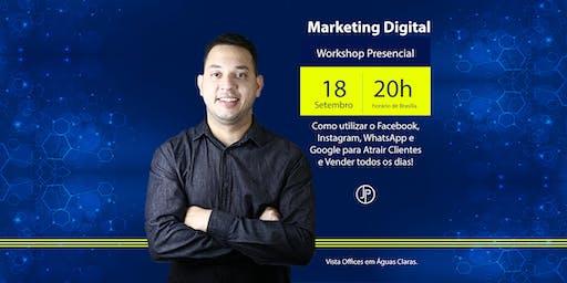 [Workshop Gratuito] Google + Mídias + Whats = Vendas 18/09/2019